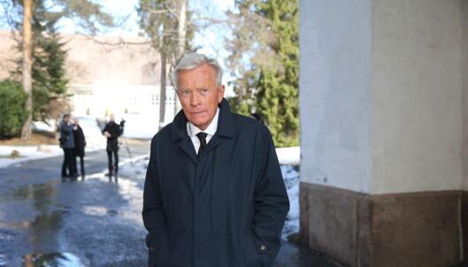TIL STEDE: Oddvar Stenstrøm. Foto: Andreas Fadum / Se og Hør