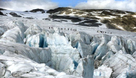 Norges isbreer kan smelte bort