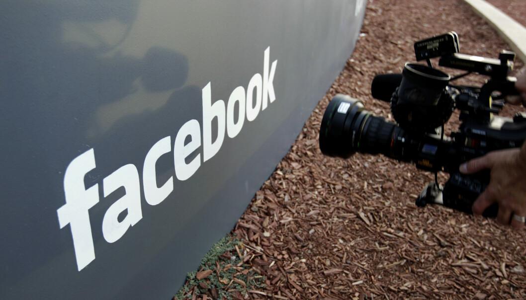 LAGRET PASSORD: Kilder hos Facebook opplyser at granskingen så langt tyder på at passordene til mellom 200 og 600 millioner brukere ble lagret på serveren, som over 20.000 ansatte hadde tilgang til. Foto: AP Photo/Paul Sakuma.