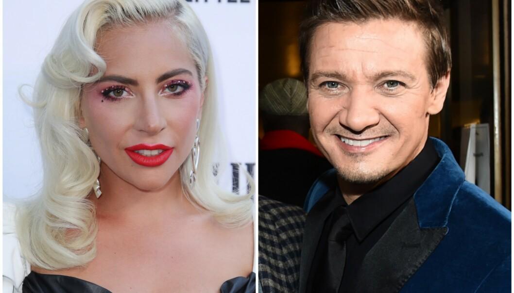 BARE GODE VENNER? Lady Gaga og Jeremy Renner skal ha tilbrakt mye tid sammen den siste perioden. Foto: NTB Scanpix