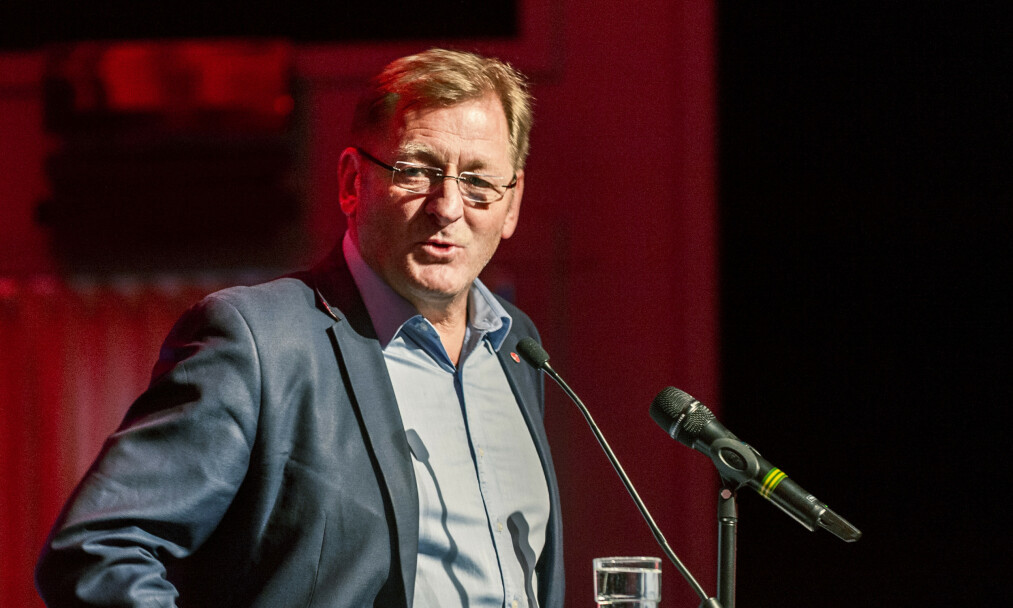 Valgkomitéleder Jorodd Asphjell under fylkesårsmøte i Trøndelag Ap. Foto: Ned Alley / NTB scanpix.