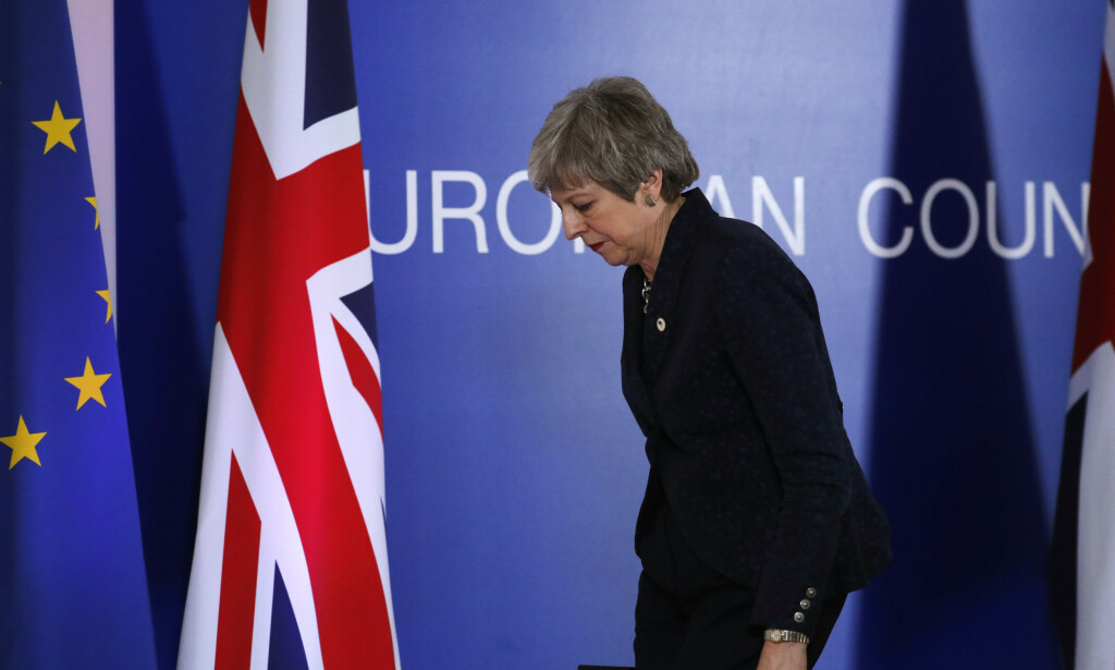 Statsminister Theresa May ble satt på sidelinjen under torsdagens EU-toppmøte, ifølge den britiske avisa Daily Telegraph. Foto: Frank Augstein / AP / NTB scanpix