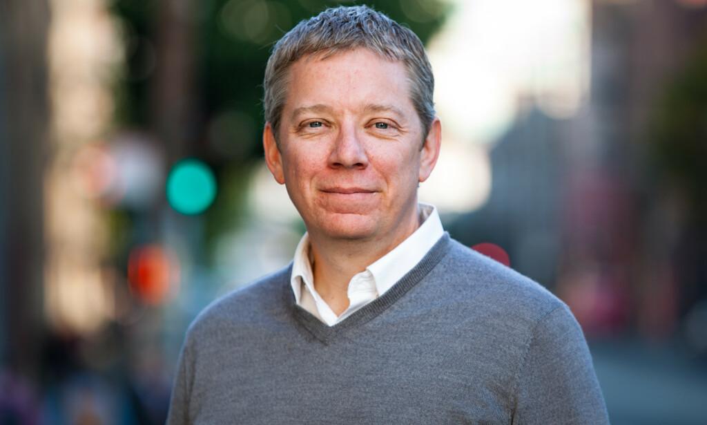IT-GIGANT: Cloudflare har blitt brukt av nettpiratene som angrep Dagbladet - og til å skjule overgrepsmateriale. Juridisk direktør Doug Kramer forsvarer selskapets funksjon. Foto: Cloudflare