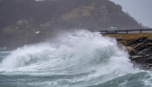 Svært høy vannstand i vente i Trøndelag og Nordland