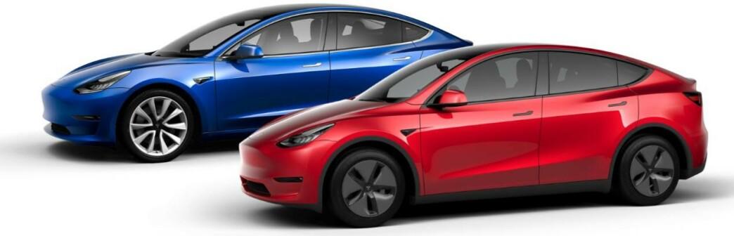 <strong>DYRERE:</strong> Tesla setter opp prisene på samtlige modeller. Foto: Tesla