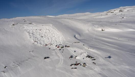 Økt snøskredfare i store deler av landet