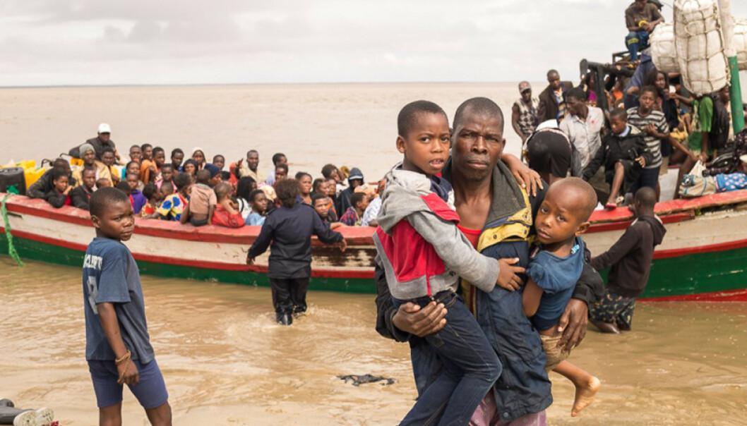 <strong>ETTER SYKLONEN:</strong> Det offisielle tallet på omkomne nærmer seg nå 300 i Mosambik. Foto: AP/NTB Scanpix.