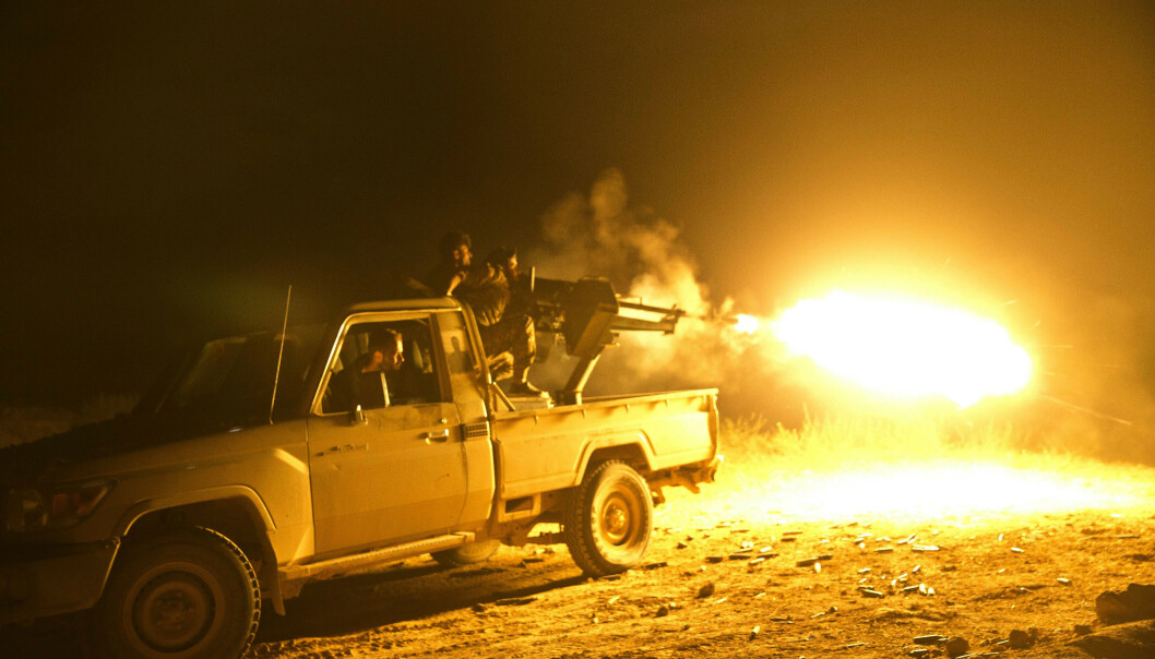 Trump hevder IS-områdene i Syria er gjenerobret