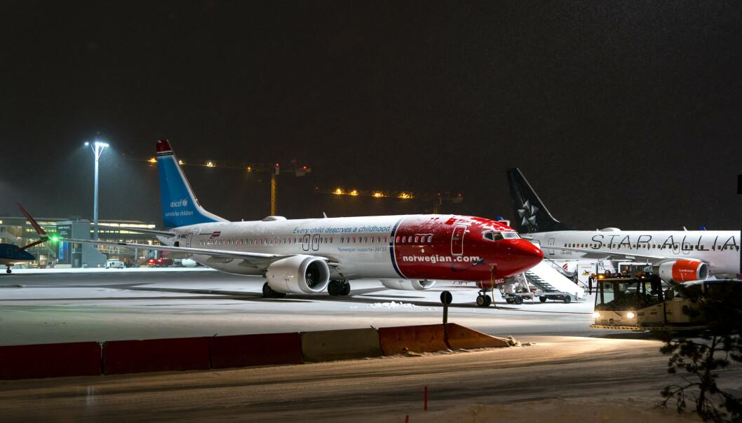 Norwegian: MAX-flyene har ikke varsellampe i førerkabinen