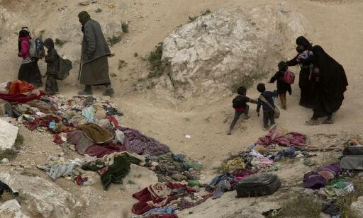 image: SOHR: Over 200 barn drept i offensiven mot IS