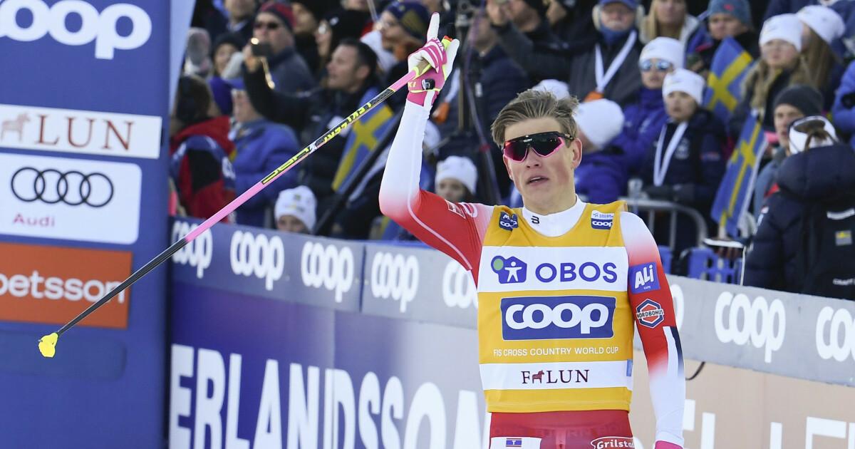 Johannes Høsflot Klæbo vant verdenscupen sammenlagt 2018/19