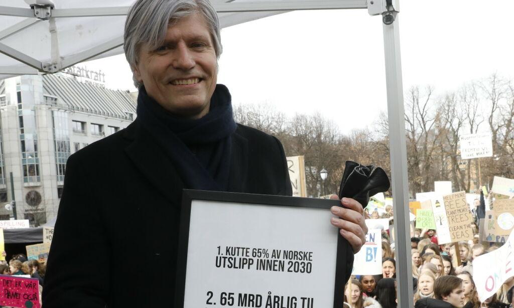 image: Full krangel om CO2-fond:- Tror kun på å plage folk