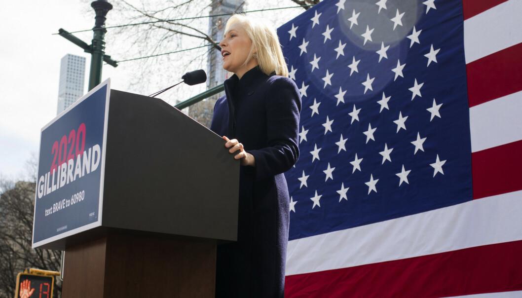 Gillibrand: – Trump er en feiging