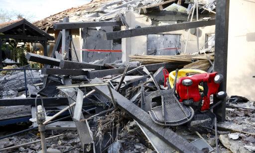 image: Israelske medier: Flere skadd i rakettangrep