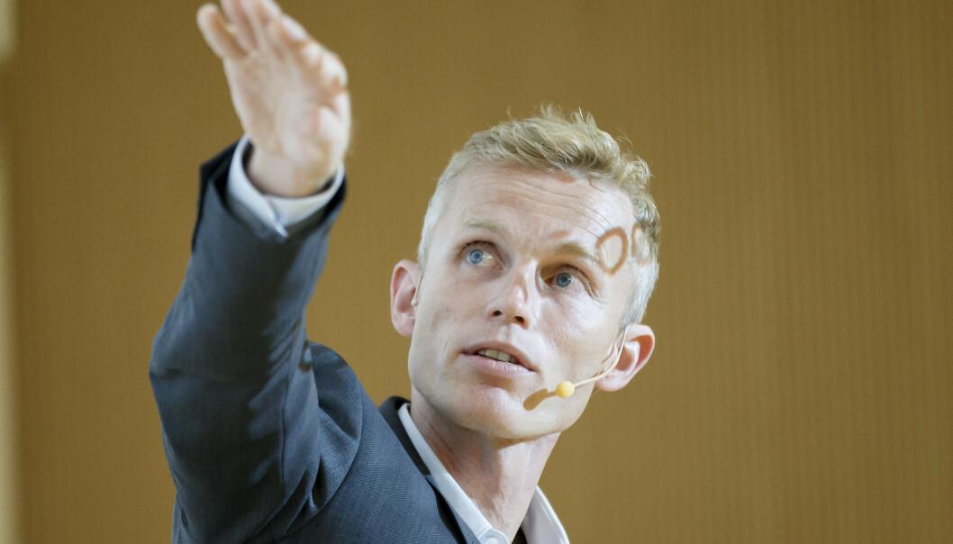 Sjeføkonom Andreas Benedictow tror det vil være en realprisnedgang i det norske boligmarkedet de neste årene. Foto: Cornelius Poppe / NTB scanpix