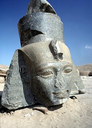 DYKTIG: Egyptologen, Bleiberg, mener at de som fjernet nesene var dyktige fagfolk fordi presisjonen på arbeidet var så nøyaktig. Foto: NTB Scanpix