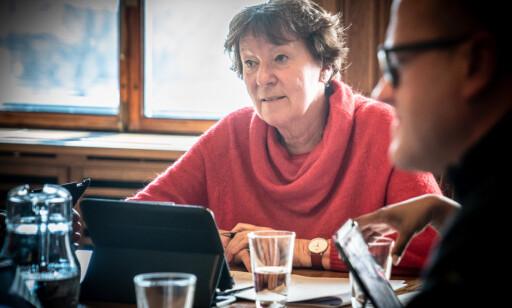 ORDFØRER: Og leder av forretningsutvalget er Marianne Borgen (Sv). Foto: Øistein Norum Monsen / Dagbladet