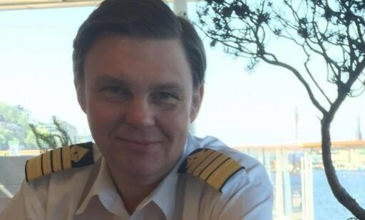 KAPTEIN: Bengt-Owe Gustafsson var kaptein på skipet. Foto: Privat