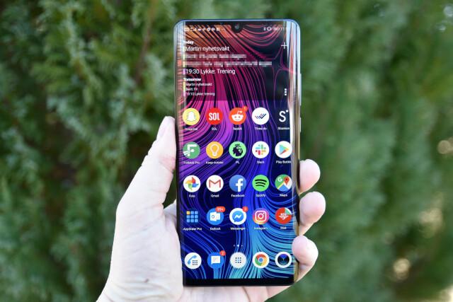 d870697a DELIKAT DESIGN: Denne gangen har Huawei valgt å gå for en dråpe på toppen  snarere