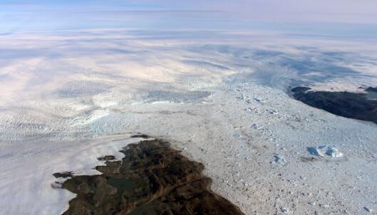 Isbreen vokser, men forskerne jubler ikke