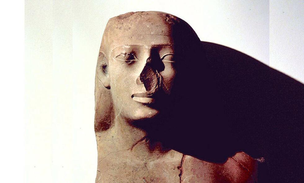 OLDTIDENS EGYPT: Under det 25.dynasitet og kongedømmet kusj ble en ny realisme introdusert. Statuene hadde bredere kinn og sterkere kjeve, noe som resulterte i et ansikt med tydeligere linjer. Foto: Walters Art Museum