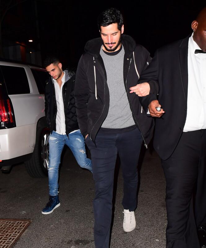 KJÆRESTEN: Det finnes ikke mange bilder av Rihannas kjæreste. Her er Hassan Jameel avbildet i New York i januar ifjor. Foto: NTB Scanpix