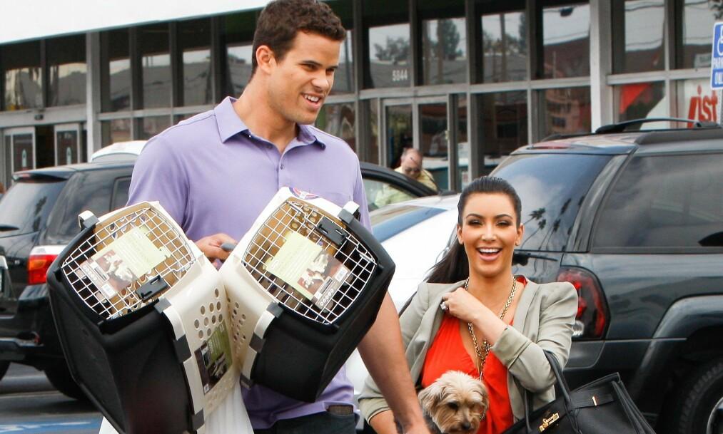 SKILTE SEG ETTER 72 DAGER: Kris Humphries og Kim Kardashian sitt forhold var en stor del av offentligheten ettersom det ble vist i realityprogrammet «Keeping Up With The Kardashians». Ekteskapet varte derimot ikke lenger enn 72 dager. Foto: NTB scanpix