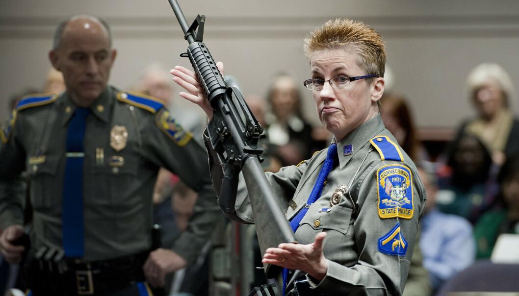 Slår alarm om barn og skytevåpen i USA