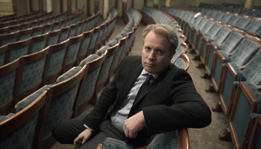 <strong>TEATERSJEF:</strong> Dramaten-sjef Eirik Stubø fotografert på teatret. Foto: Janerik Henriksson/TT / NTB scanpix