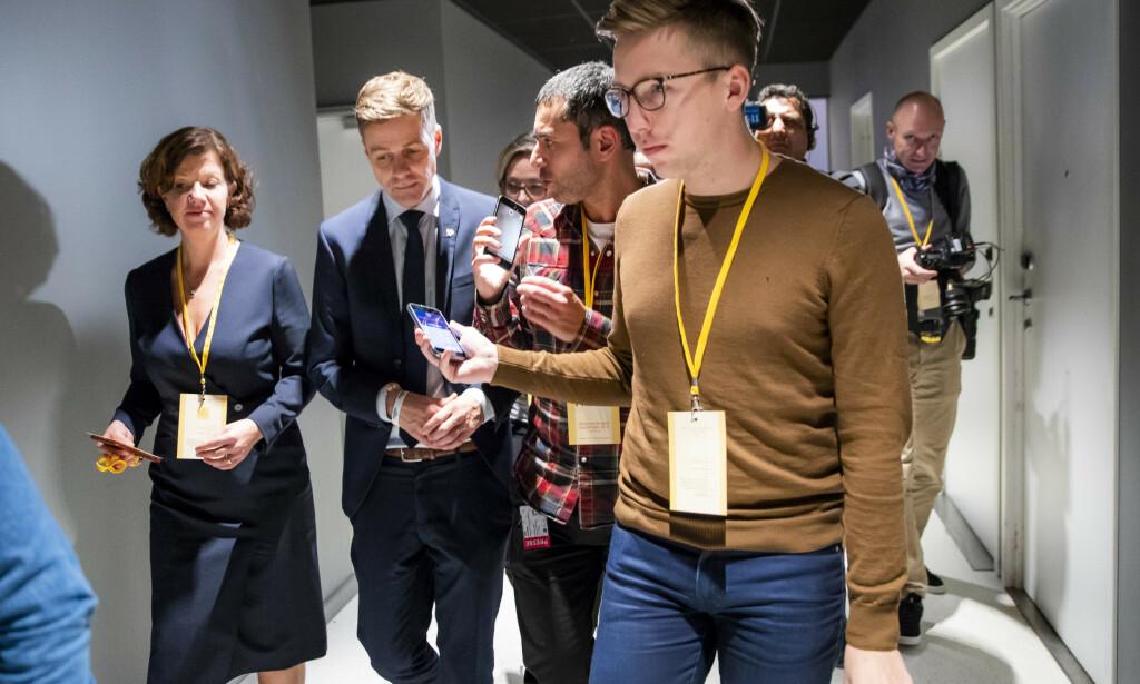 VG-rapporten: VG-journalist Lars Joakim Skarvøy sier til Medier24 at han ikke har gjort en god nok jobb i saken, men står fast ved at sitatet ikke er fabrikkert. Foto: Håkon Mosvold Larsen / NTB scanpix