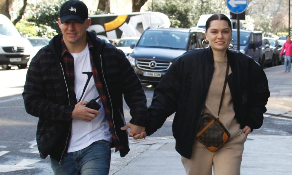EMOSJONELL HYLLEST: Channing Tatum delte et rørende Instagram-innlegg i anledning sangstjerne Jessie J sin bursdag. Foto: NTB scanpix