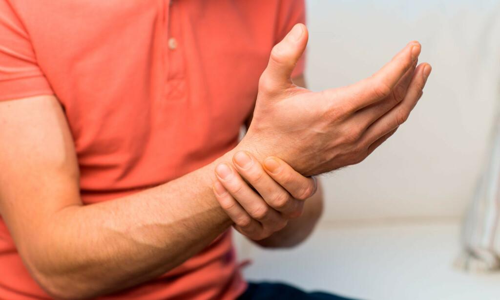 SMERTER: Skader i nerver kan gi smerter. Foto: NTB Scanpix/Shutterstock