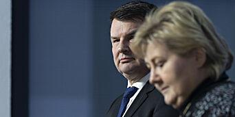 image: Statsministeren har grunn til å være lei seg
