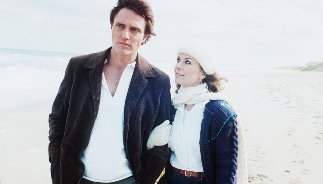 <strong>SJALUSI:</strong> Christopher Walken og Natalie Wood spilte sammen i filmen «Brainstorm» – og Wagner skal ha beskyldt Walken for å legge an på kona hans. Foto: NTB Scanpix