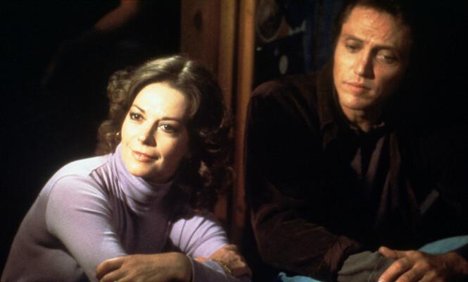 <strong>PÅ FILMSETTET:</strong> Her er Natalie Wood og Christopher Walken i 1981, samme år som hun døde. Foto: NTB Scanpix