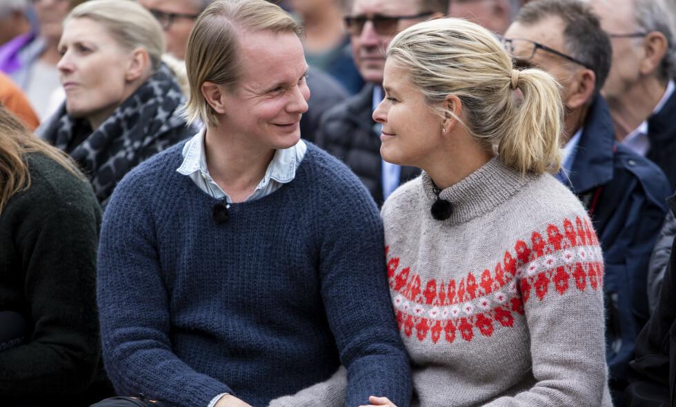 FLYTTER SAMMEN: Petter Pilgaard og Vendela Kirsebom blir samboere: Foto: Tore Meek / NTB scanpix