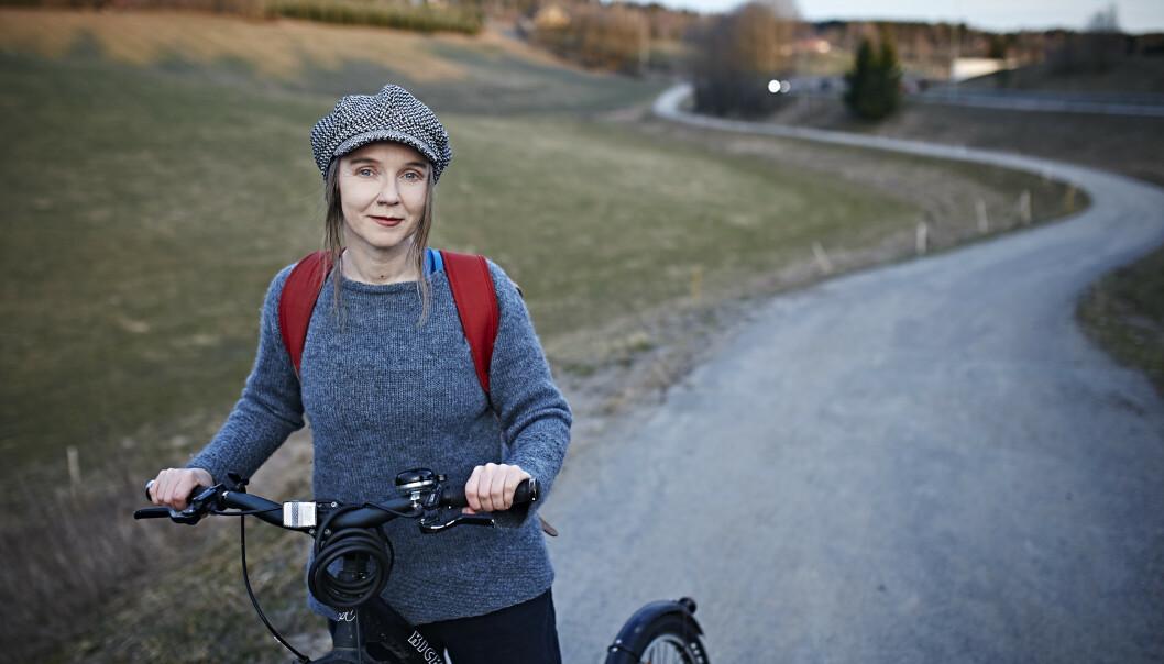 MØTER OPP: Monica Marcella Kjærstad er lokalpolitiker for MDG, og engasjerer seg i barnas klimakamp. Foto: Geir Dokken (kjæreste og samboer).