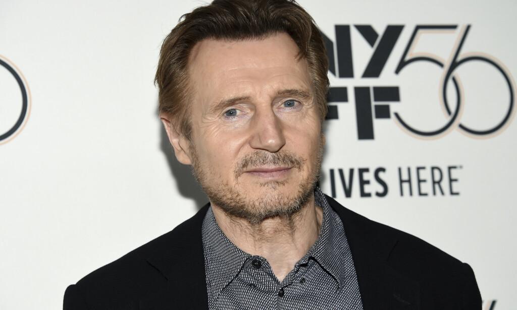 Liam Neeson beklager historien han fortalte om hvordan han ønsket å drepe en tilfeldig svart mann som hevn etter at en nær venn ble voldtatt for 40 år siden. Arkivfoto: Evan Agostini / Invision / AP / NTB scanpix