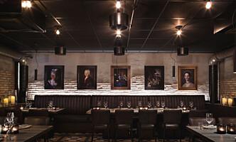 GRILL PÅ BORDET: Restaurant Jonathan i kjelleren. Foto: Dreyer & Hensley