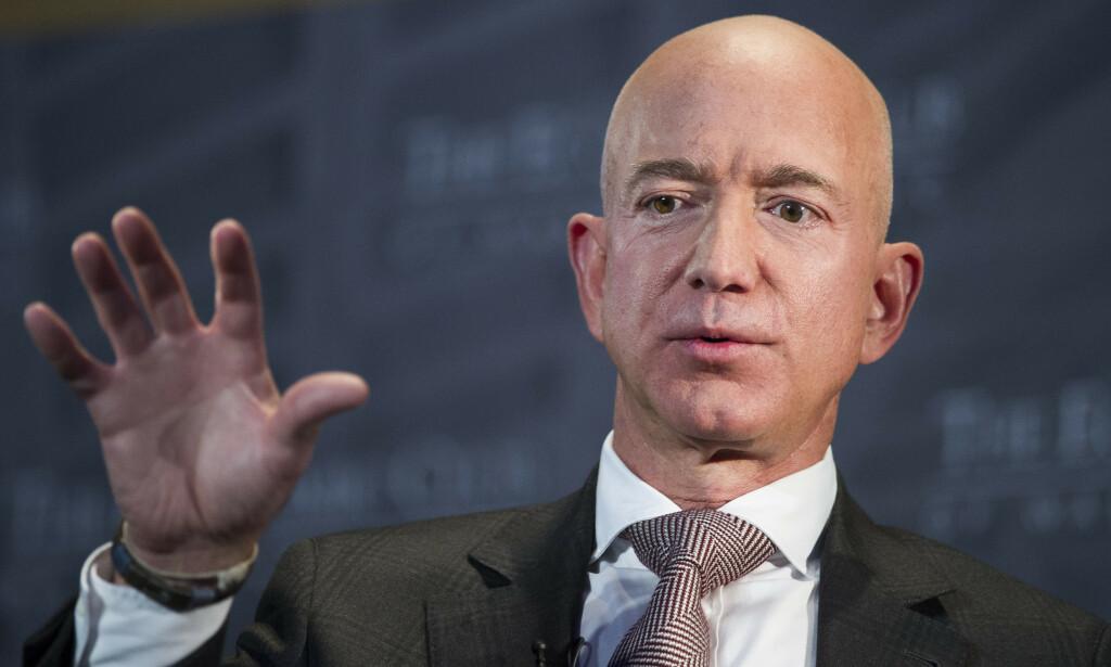 Amazon-gründer Jeff Bezos er verdens rikeste mann. Foto: AP/ NTB Scanpix.