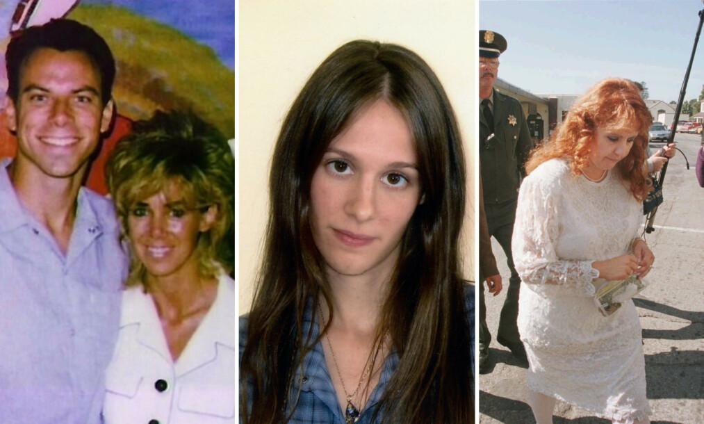 FORELSKET SEG I LIVSTIDSFANGER: Felles for disse tre kvinnene, er at samtlige har innledet romantiske forhold til menn som er dømt for brutale drap. Eksperter har vist til flere hypoteser om hva som kan være bakgrunnen for et slikt ukonvensjonelt valg. Foto: NTB Scanpix