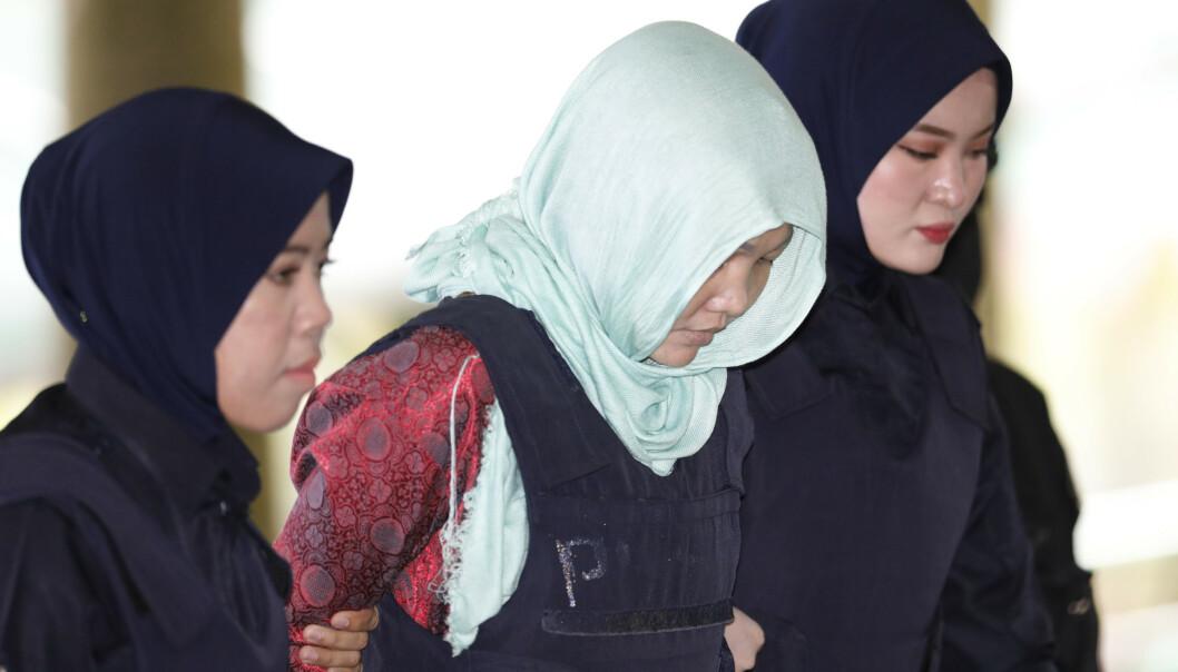 Kvinne dømt til fengsel for angrep på Kim Jong-uns halvbror