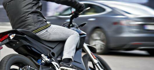 Kraftig økning i motorsykkel-salget