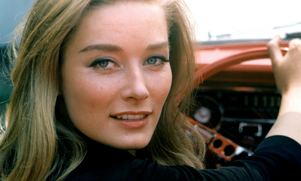 DØD: På 1960-tallet spilte Tania Mallet rollen som Tilly Masterson i «Goldfinger». På den tiden gjorde hun også stor suksess som modell. Foto: NTB scanpix