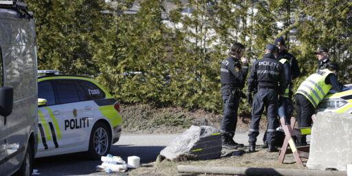 image: Blodig mann med kniv pågrepet: - Sa han hadde drept noen