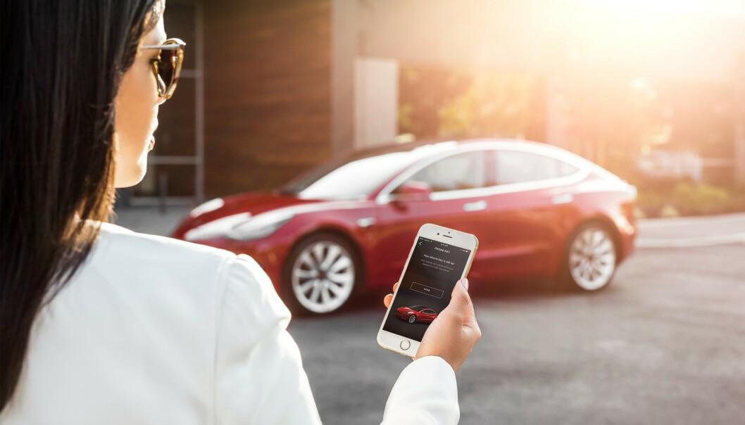 <strong>Gigantrekord:</strong> Med over 11.000 nye elbilkunder på en og samme måned, vil mange få spørsmål de ønsker svar på. Foto: Tesla