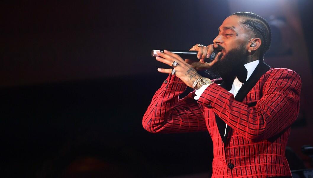 DØD: Den unge rapperen ble drept for et par dager siden. I dag brøt det ut kaos i minnestunden hans. Foto. NTB Scanpix