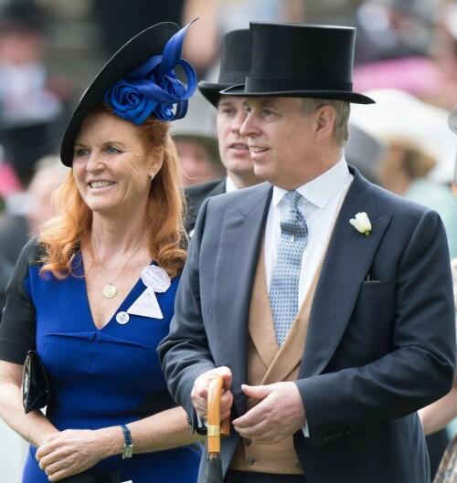 BEHOLDT VENNSKAPET: Sarah Ferguson og prins Andrew har bevart vennskapet etter skilsmissen. Foto: NTB Scanpix