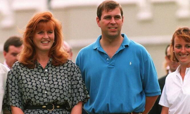 DEN GANG DA: Sarah og Andrew sammen i 1994. Foto: NTB Scanpix