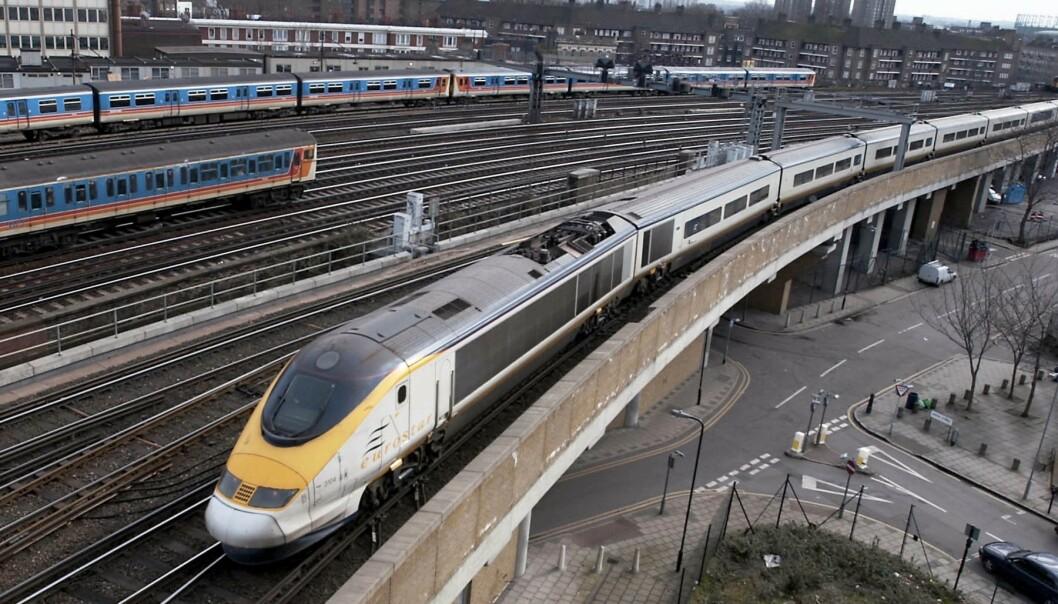 Britisk politi mistenker at togsabotasje har en sammenheng med brexit. Foto: NTB Scanpix